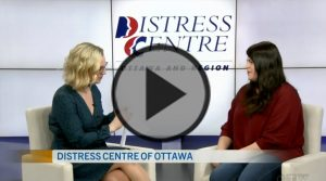 CTV Interviews Distress Centre of Ottawa and Region