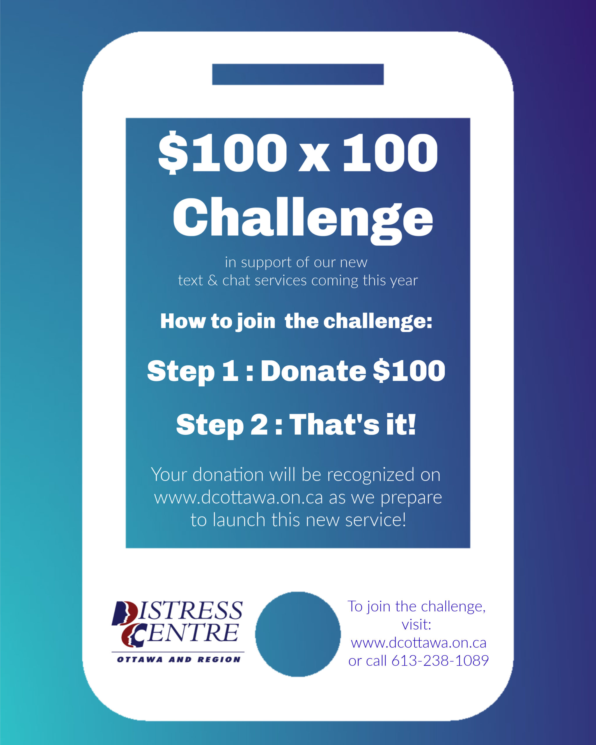 100x$100 Challenge 2020