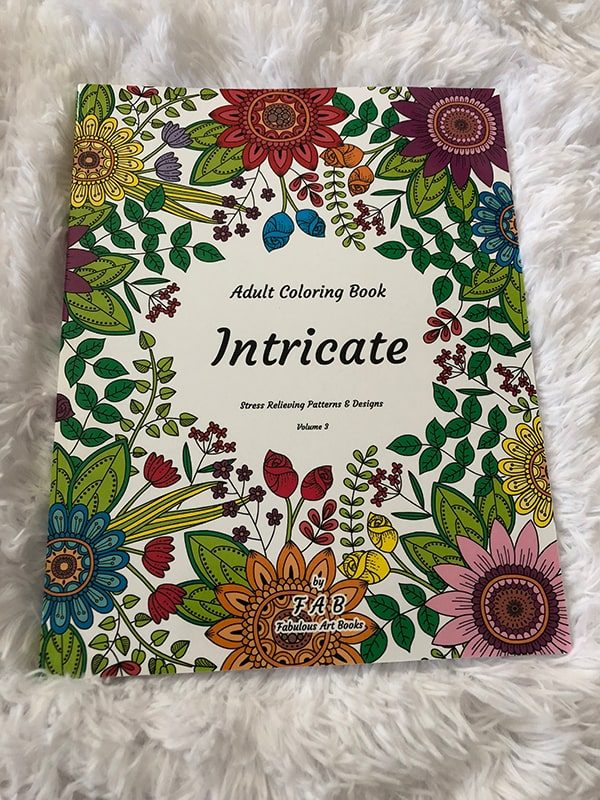 Adult Colouring Book - Intricate
