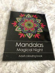 Adult Colouring Book - Mandalas Magical Night