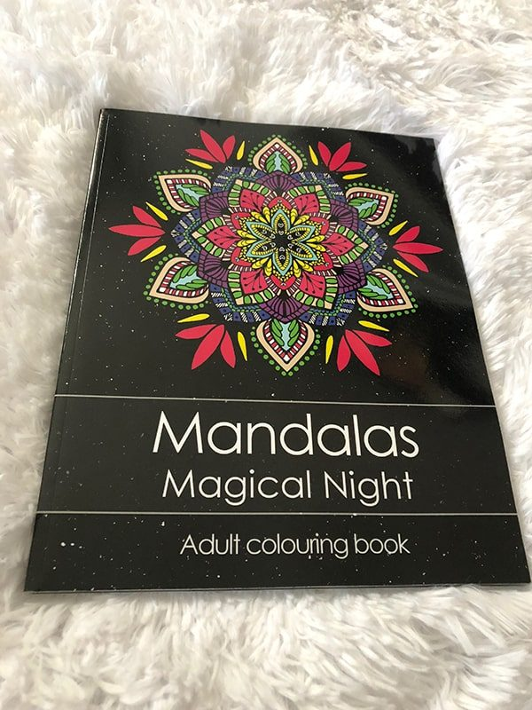 Adult Colouring Book - Mandalas Magical Night