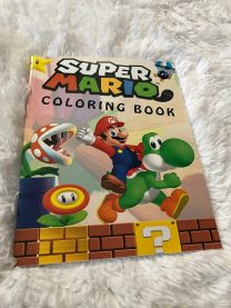 Super Mario colouring book