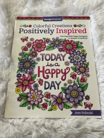 Adult Colouring Book - Happy Day