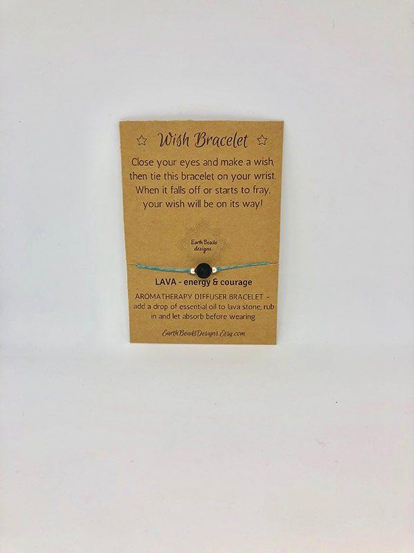 Wish Bracelet - Energy & Courage (1 Bead)