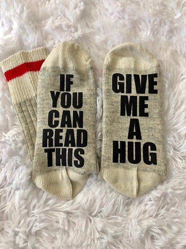 Give me a hug...socks
