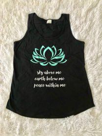 Lotus Flower Tank Top
